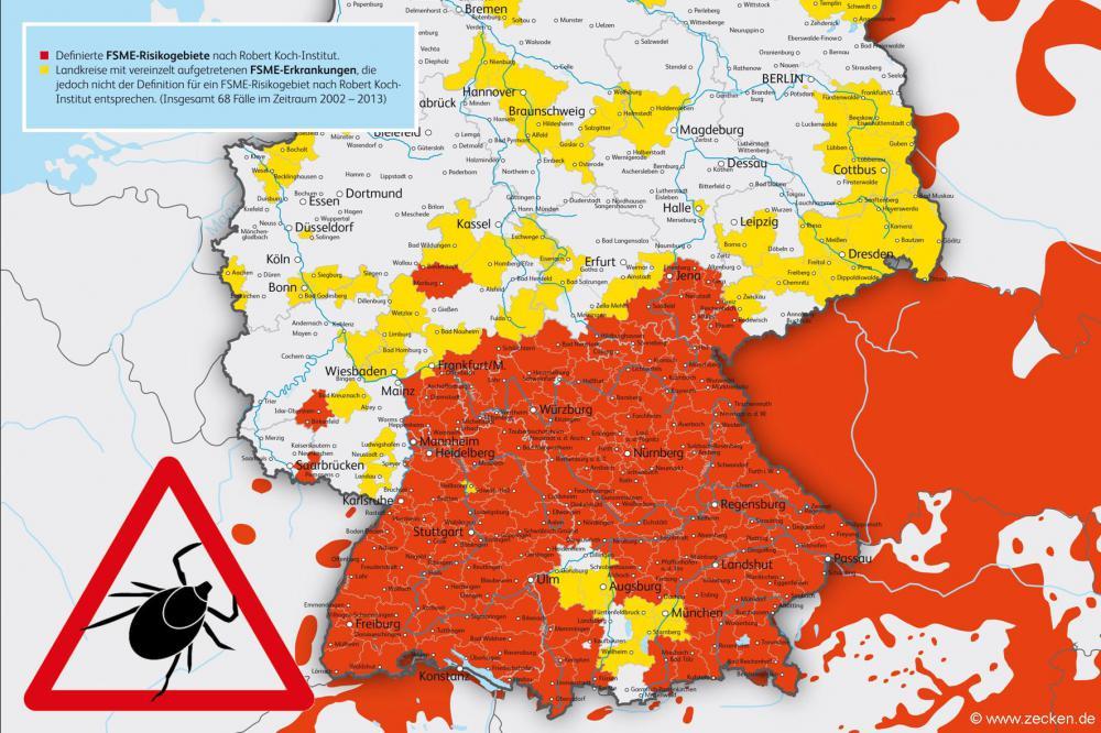 Aktuelle Risikogebiete Deutschland